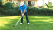 follow through rotation of forearms and hands caddie view